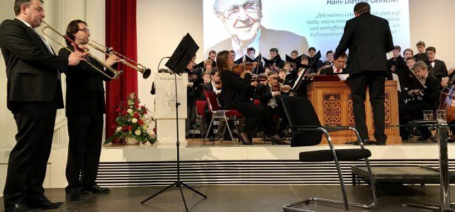 Rede des Oberbürgermeisters zum Festakt für Hans-Dietrich Genscher am 31.3.2017