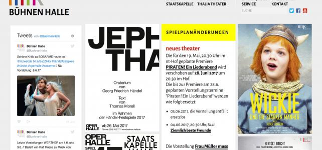 Aktuelle Entwicklungen in der Theater, Oper und Orchester GmbH (TOOH)