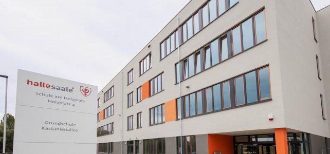 Schule am Holzplatz pünktlich zum Schuljahresbeginn 2019/2020 fertiggestellt